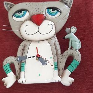 Allen Designs ceramic clock